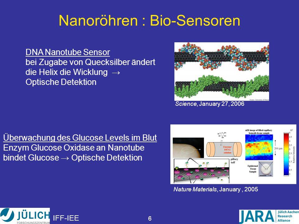 Nanoröhren : Bio-Sensoren