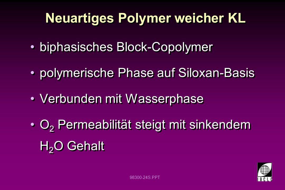 Neuartiges Polymer weicher KL