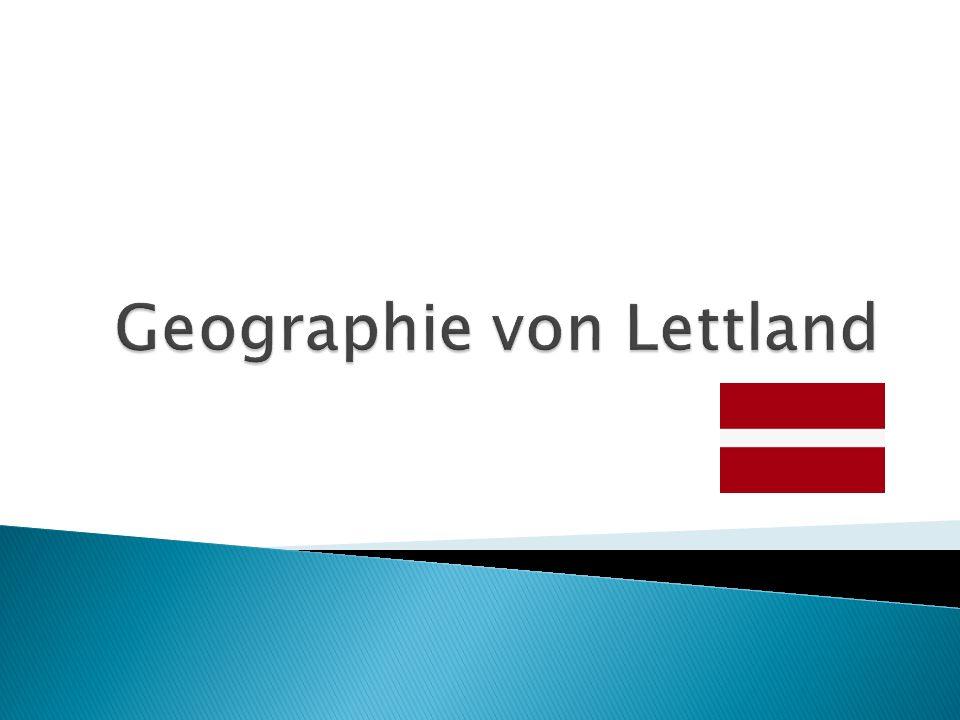 Geographie von Lettland