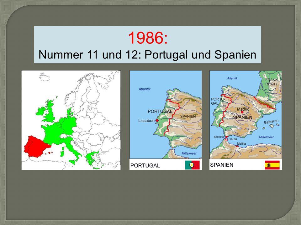 Nummer 11 und 12: Portugal und Spanien