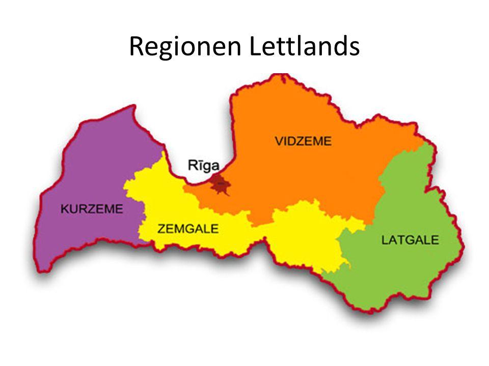 Regionen Lettlands