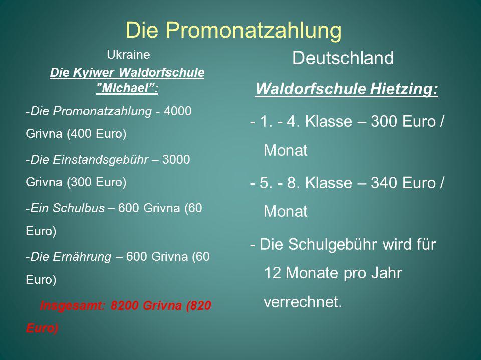 Die Kyiwer Waldorfschule Michael : Waldorfschule Hietzing:
