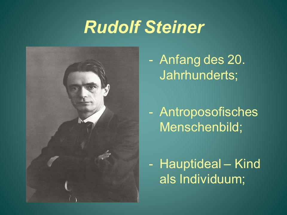 Rudolf Steiner Anfang des 20. Jahrhunderts;