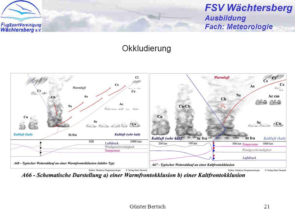 FSV Wächtersberg Okkludierung Ausbildung Fach: Meteorologie