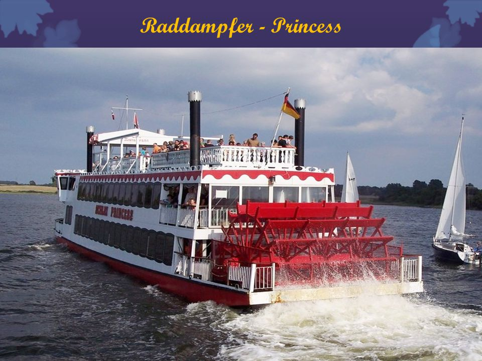 Raddampfer - Princess