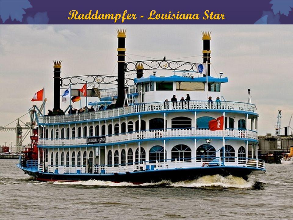 Raddampfer - Louisiana Star