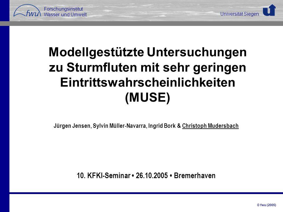 10. KFKI-Seminar • 26.10.2005 • Bremerhaven