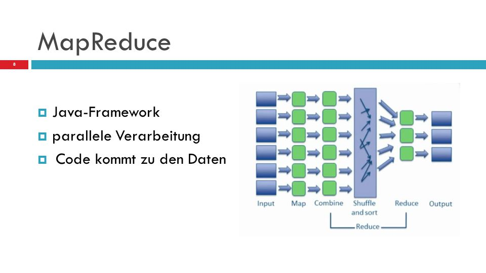 MapReduce Java-Framework parallele Verarbeitung
