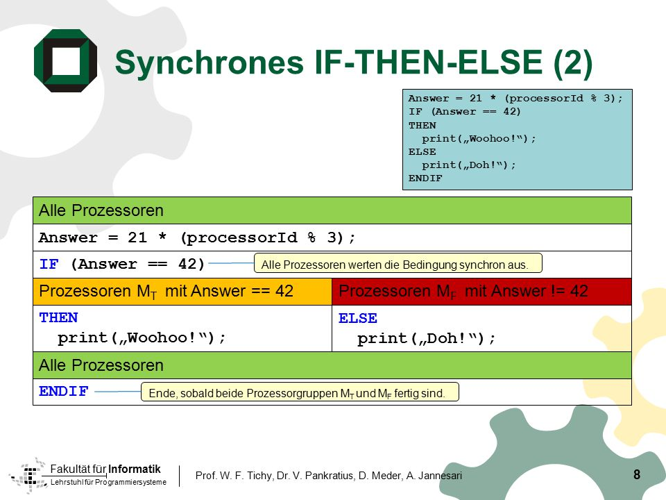 Synchrones IF-THEN-ELSE (2)