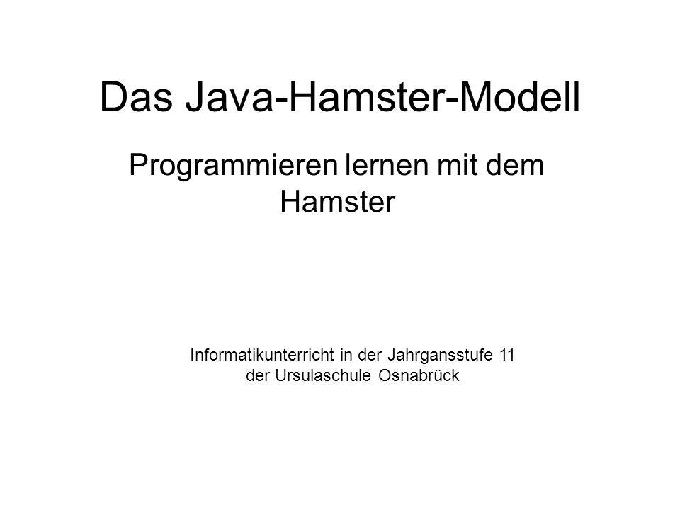 Das Java-Hamster-Modell