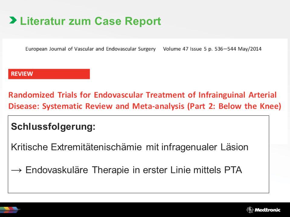 Literatur zum Case Report