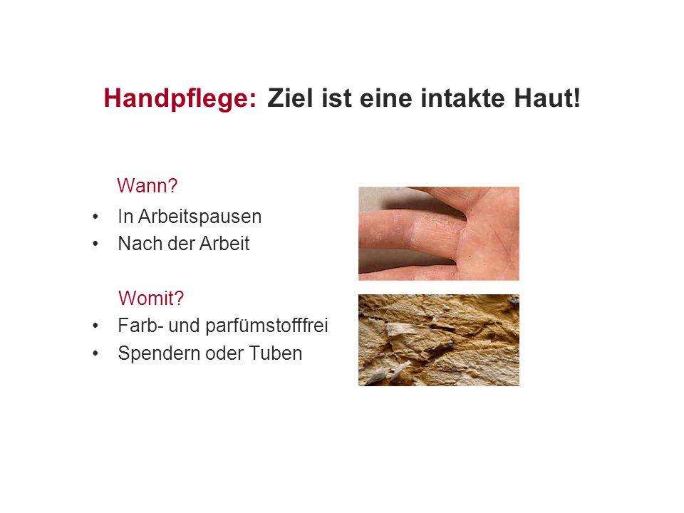 Handpflege: Ziel ist eine intakte Haut!