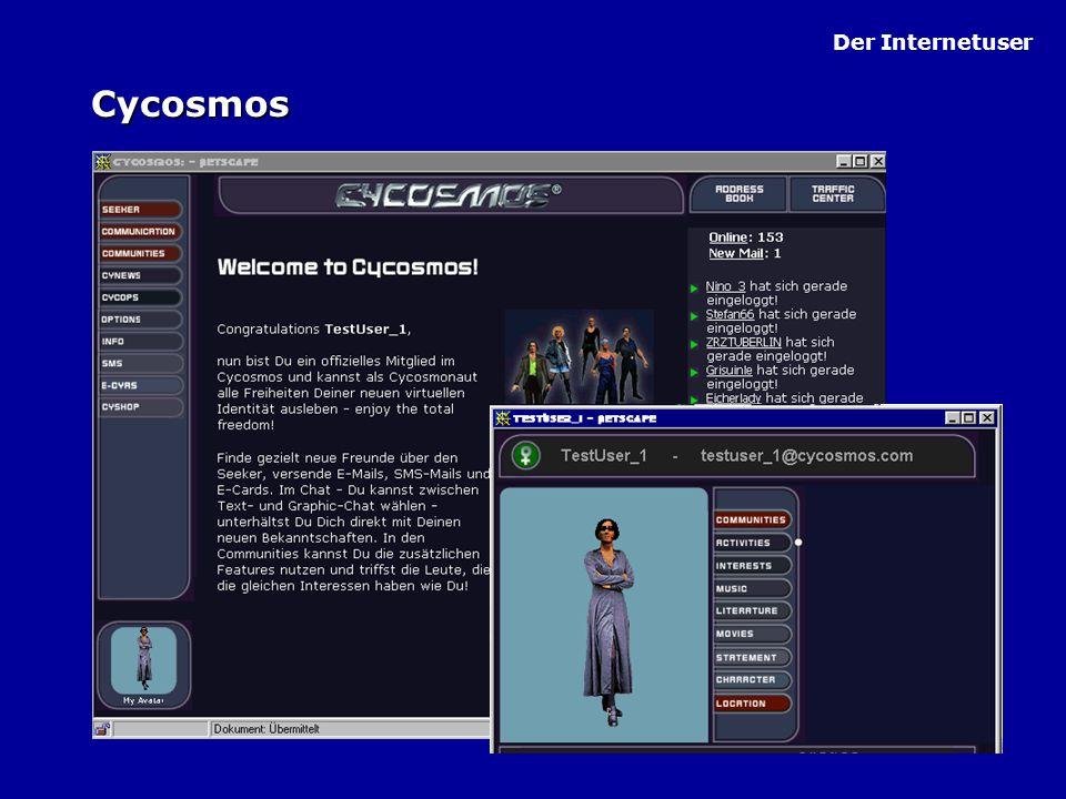 Der Internetuser Cycosmos