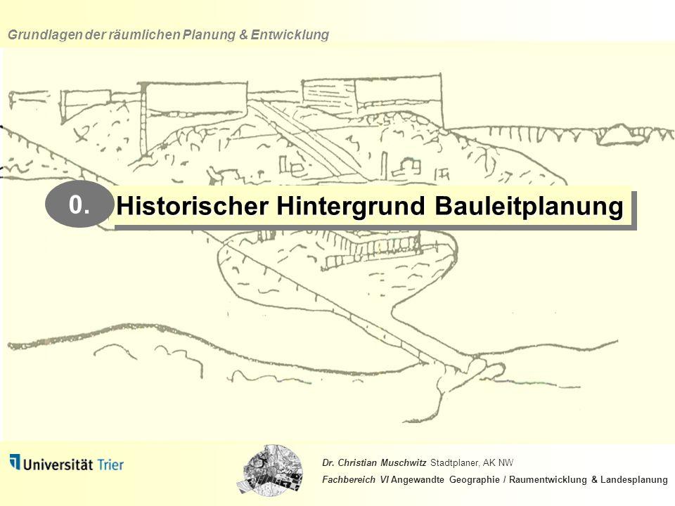 Historischer Hintergrund Bauleitplanung