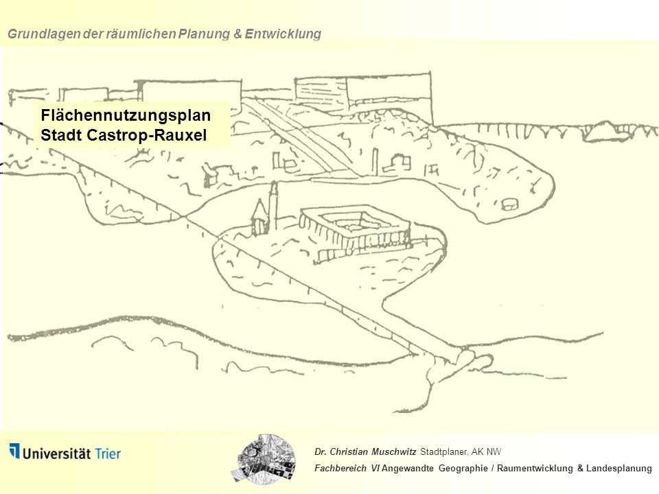 Flächennutzungsplan Stadt Castrop-Rauxel