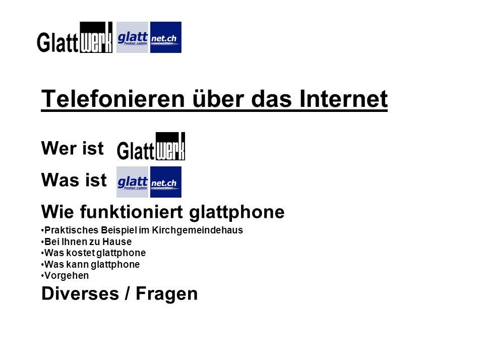 Telefonieren über das Internet