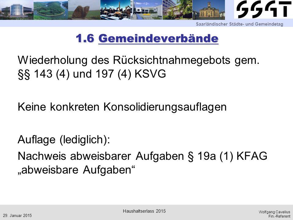 1.6 Gemeindeverbände