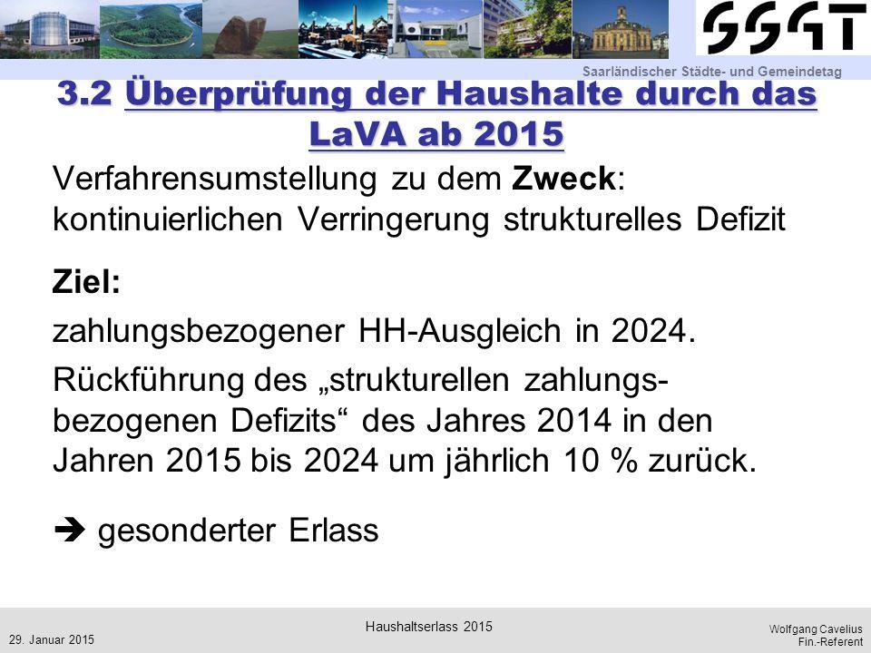 3.2 Überprüfung der Haushalte durch das LaVA ab 2015