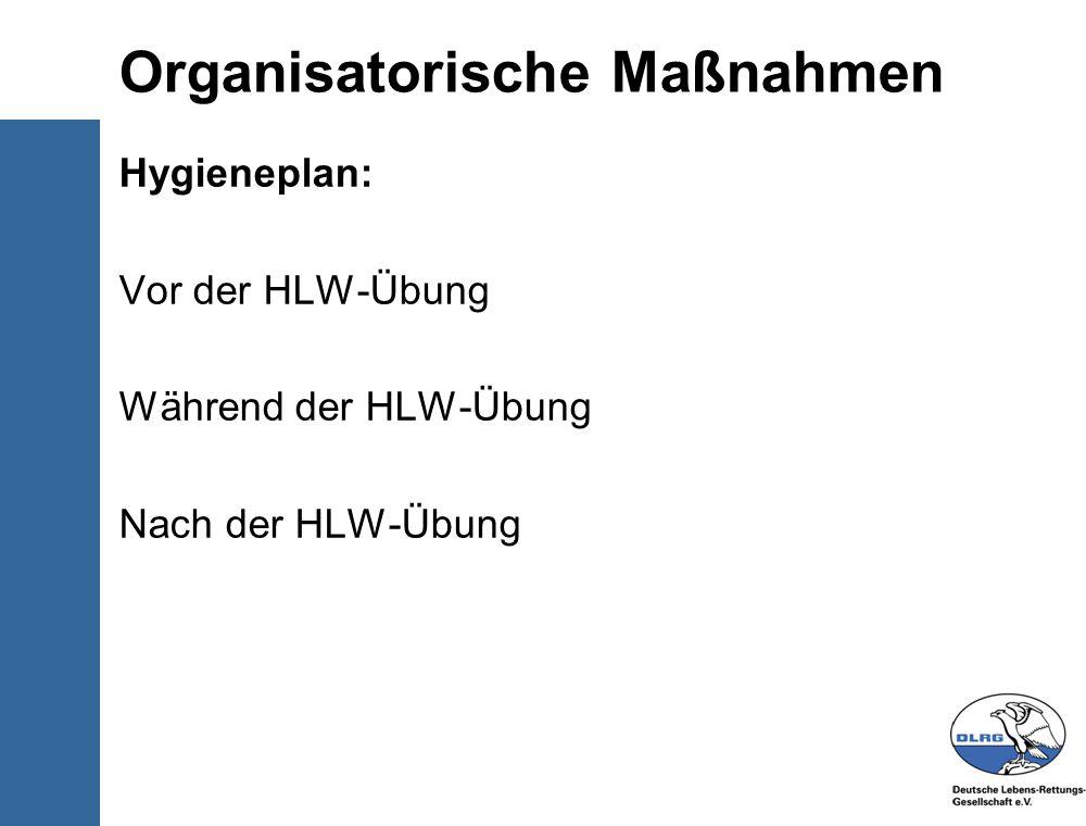 Organisatorische Maßnahmen