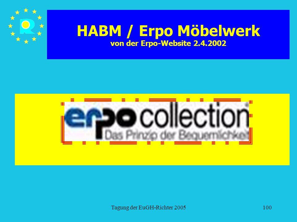 HABM / Erpo Möbelwerk von der Erpo-Website 2.4.2002