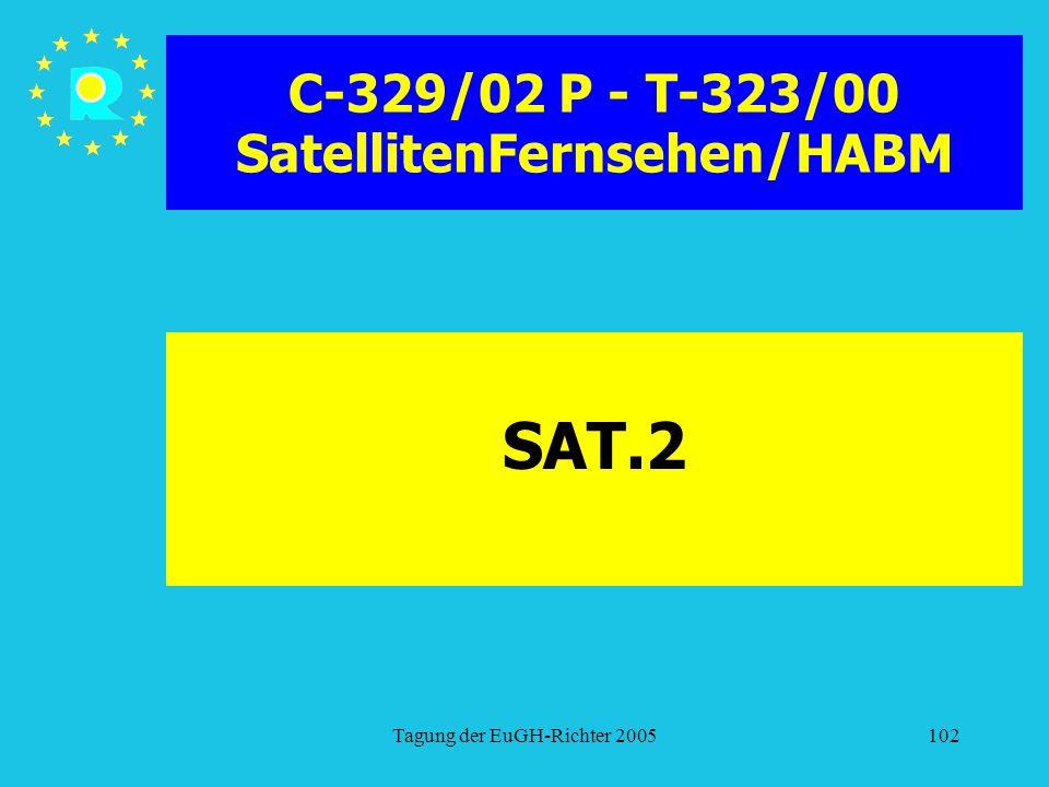 C-329/02 P - T-323/00 SatellitenFernsehen/HABM
