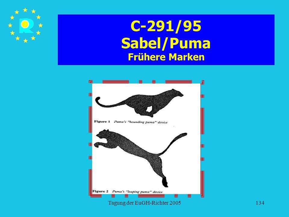 C-291/95 Sabel/Puma Frühere Marken