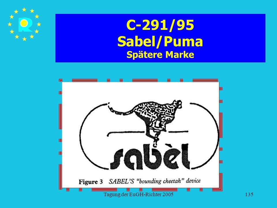 C-291/95 Sabel/Puma Spätere Marke