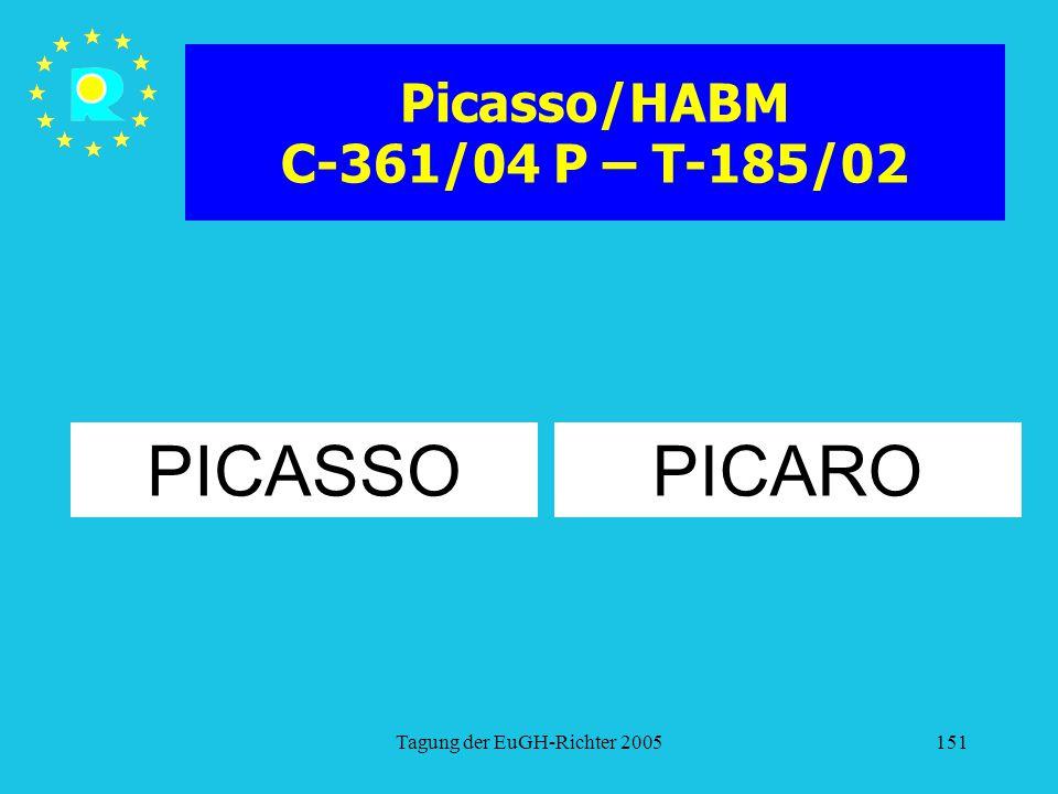 Picasso/HABM C-361/04 P – T-185/02