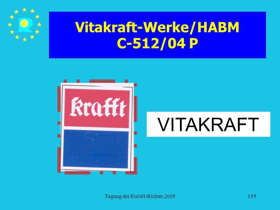 Vitakraft-Werke/HABM C-512/04 P