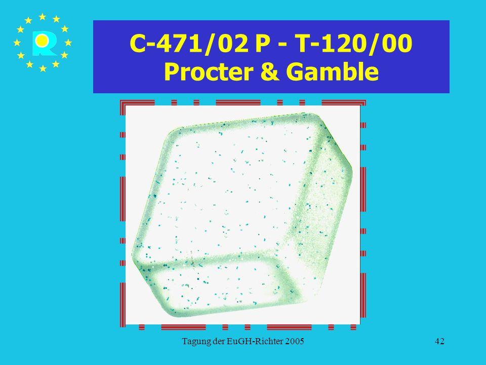 C-471/02 P - T-120/00 Procter & Gamble