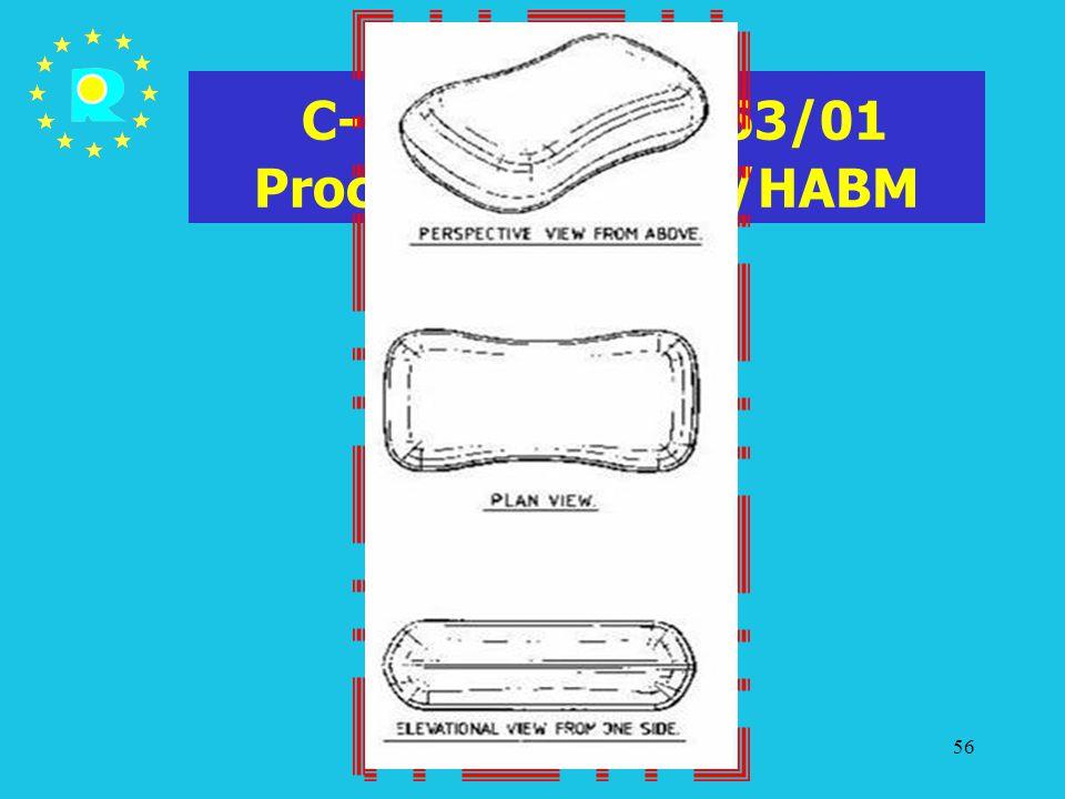 C-107/03 P - T-63/01 Procter & Gamble/HABM