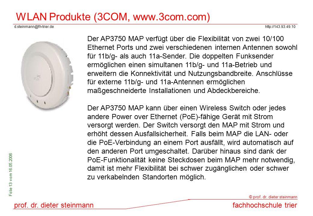 WLAN Produkte (3COM, www.3com.com)