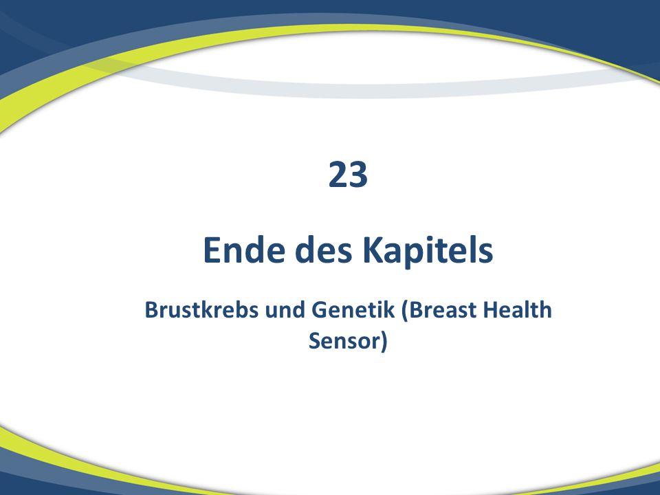 Brustkrebs und Genetik (Breast Health Sensor)