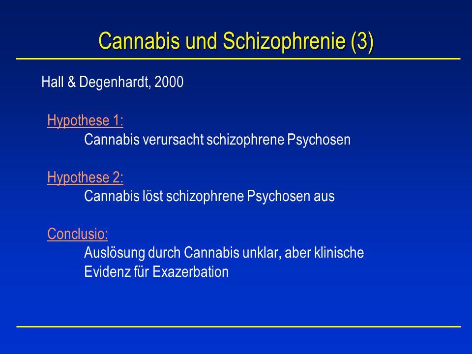 Cannabis und Schizophrenie (3)
