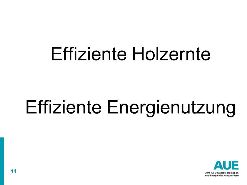 Effiziente Energienutzung