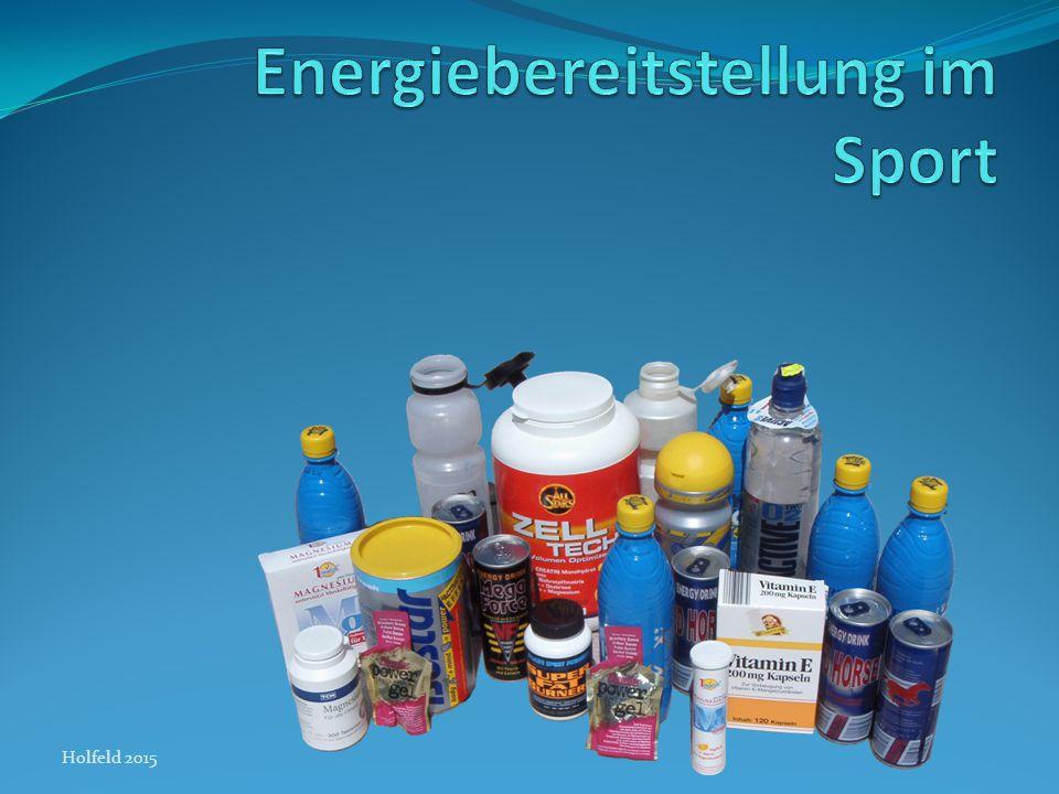 Energiebereitstellung im Sport