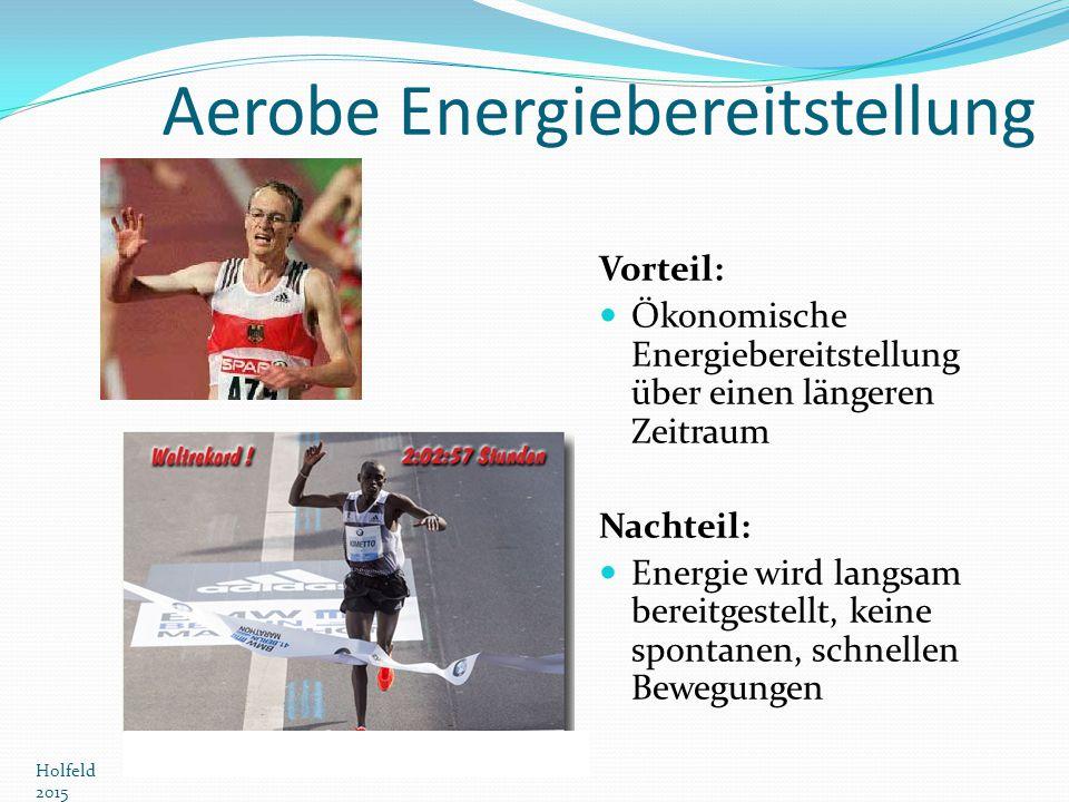 Aerobe Energiebereitstellung