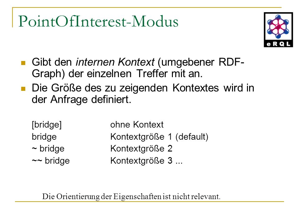 PointOfInterest-Modus
