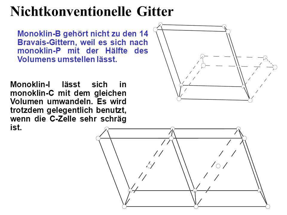 Nichtkonventionelle Gitter