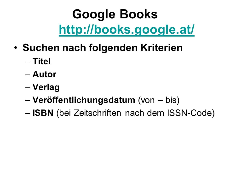 Google Books http://books.google.at/