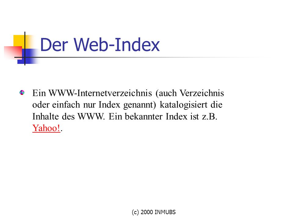 Der Web-Index