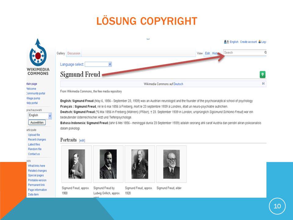 LÖSUNG Copyright