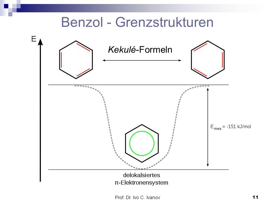Benzol - Grenzstrukturen