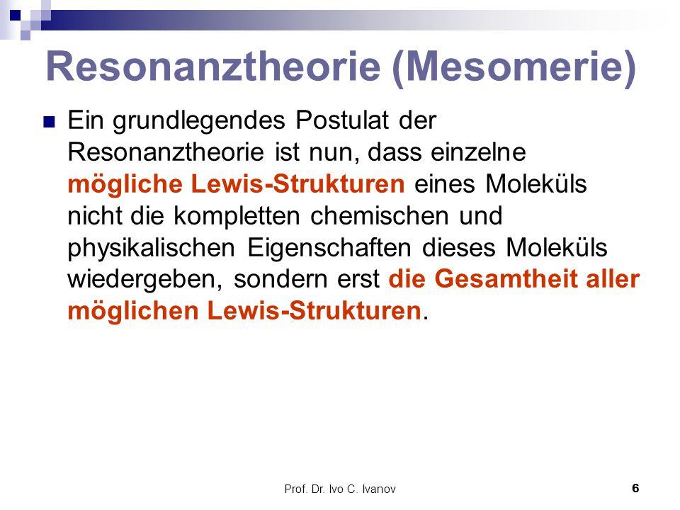 Resonanztheorie (Mesomerie)