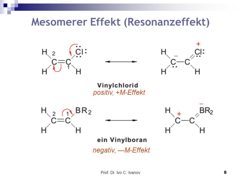 Mesomerer Effekt (Resonanzeffekt)