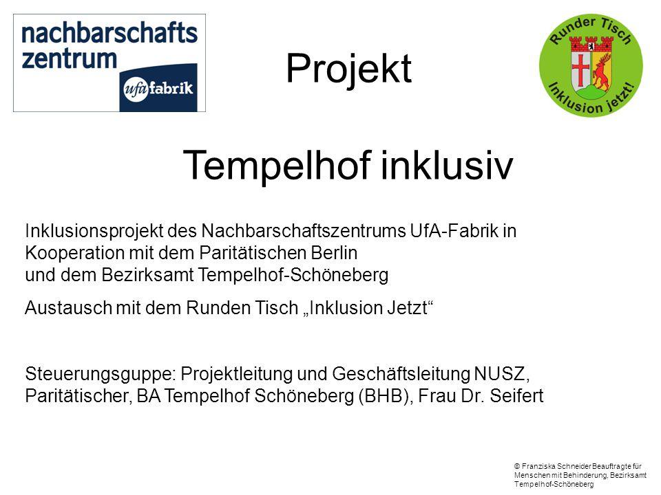 Projekt Tempelhof inklusiv