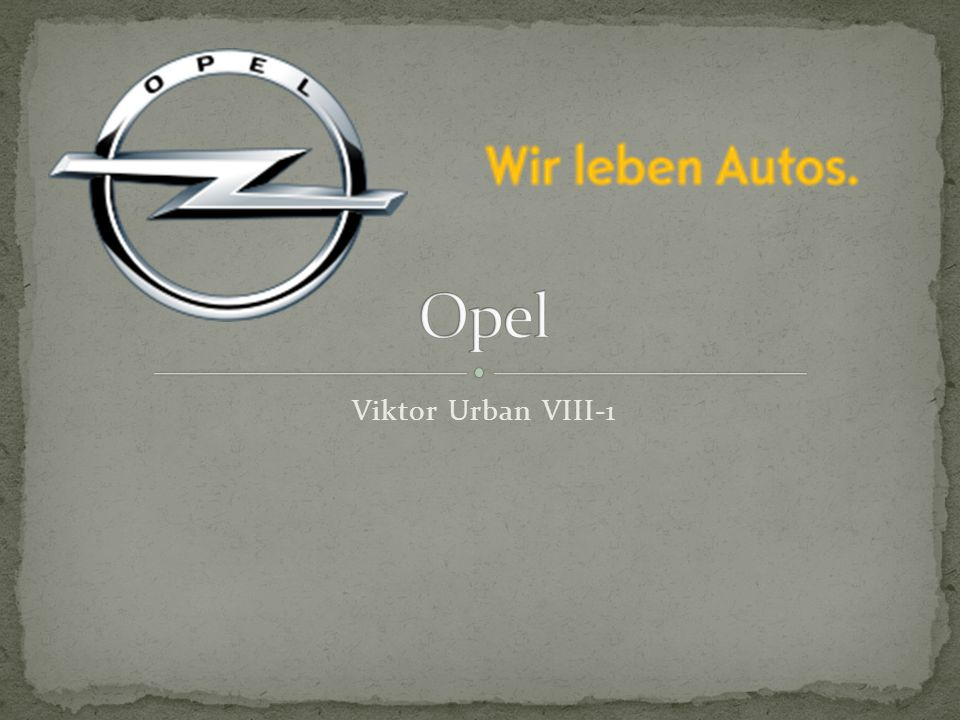 Opel Viktor Urban VIII-1