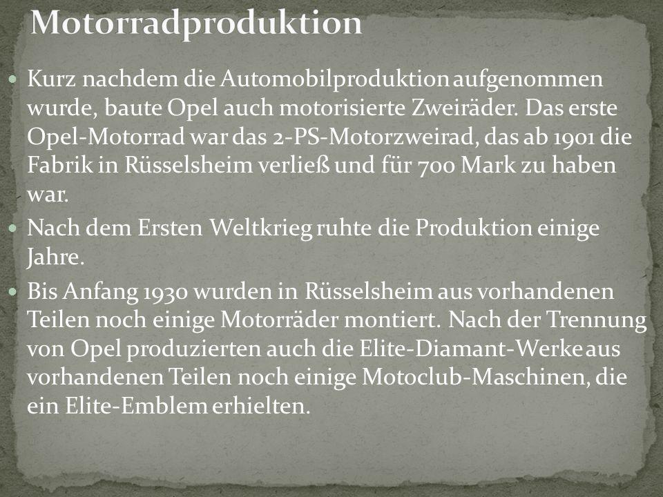 Motorradproduktion