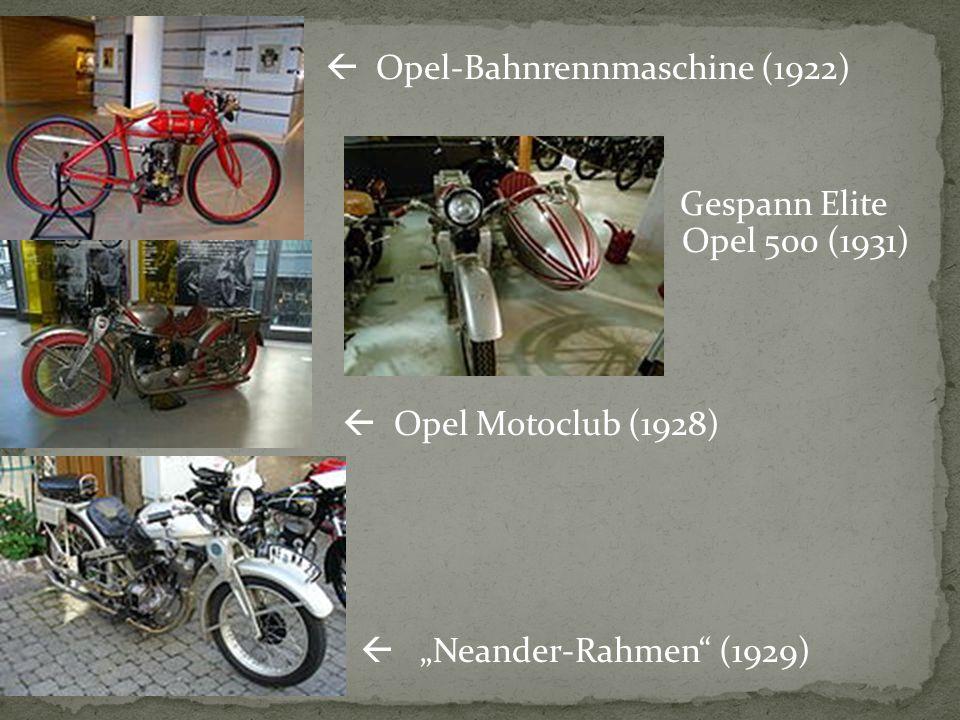  Opel-Bahnrennmaschine (1922)