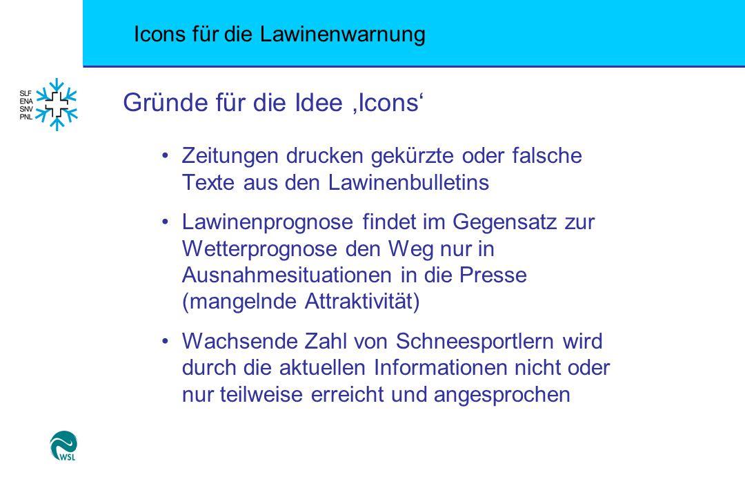 Gründe für die Idee 'Icons'